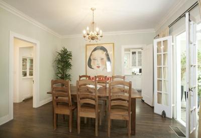 1363 N Orange Grove Spaulding Square English Revival Bungalow Dining Room