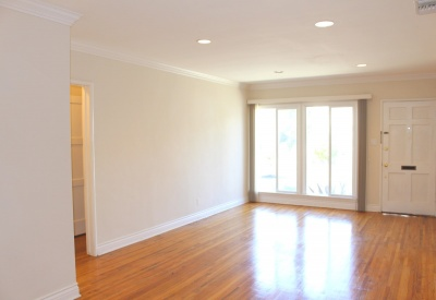 874 Alandele Avenue  Museum Square 1 Bedroom Rental 90036 Living Room