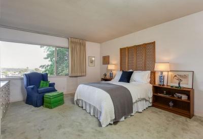 2124 Linda Flora Upper Bel-Air Mid-Century Ranch 90077 Master Bedroom