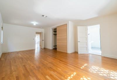1411 N Stanley Avenue Spaulding Square Adjacent Bungalow Lease 90046 Master Bedroom